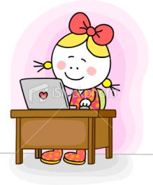 istockphoto_12040453-little-happy-girl-chatting-online-in-internet-with-computer-cartoon